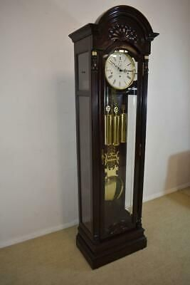 Howard Miller Presidential Collection Grandfather Clock Model 610 581 Limited Ebay In 2020 Grandfather Clock Antique Mantel Clocks Clock