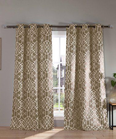 Loving This Taupe Kit Blackout Curtain Panel Set Of Two On