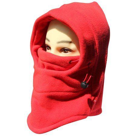 Topnaca Face Mask Neck Warmer Fleece Hood Balaclava Winter Hat for Men Women Thermal Warm Windproof for Running Snowboard Ski Cycling Motorcycle Winter Sports