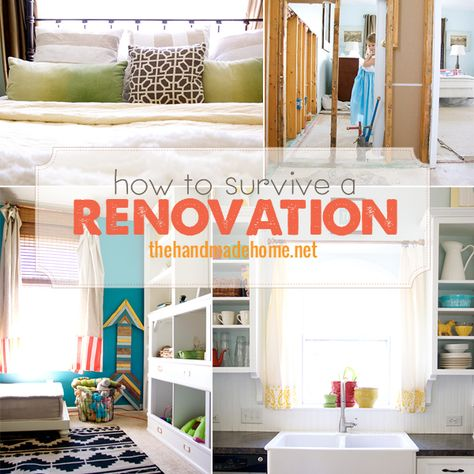 Surviving a Renovation or any other time the house is out of control and driving you over the edge