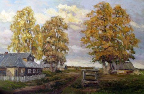 Серебренникова Лариса. Осень в деревне