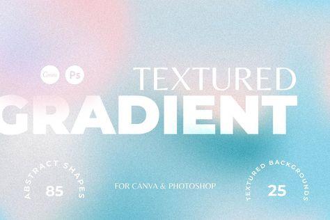 Grainy Gradient Textures CANVA