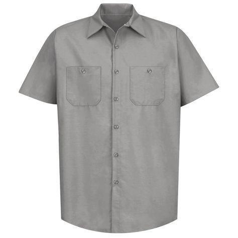 7c69947a Red Kap SP23 Women's Industrial Work Shirt - Short Sleeve - Petrol Blue |  2019 police | Work shirts, Light blue shorts, Blue shorts