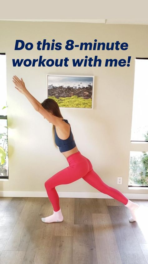 Do this 8-minute bodyweight workout with me!