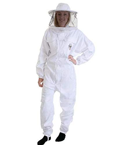 Anti Bee Beekeeper Suit Unisex Beekeeping Protective Clothing Costume Jacket