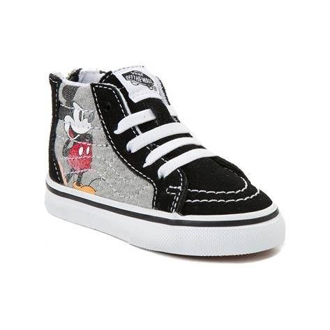 Disney x Vans Toddler Sk8 Hi Zip Skate