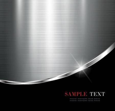 Elegant Metallic Background Vector Design Vector Design Background Images Wallpapers Metal Background