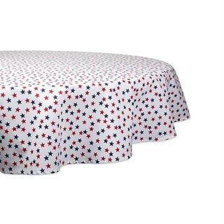 Design Imports DII Bbq Fun Print Outdoor Tablecloth 60 Round