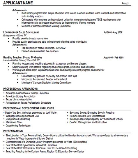 Public #Librarian Resume Sample (resumecompanion) Resume - chief librarian resume