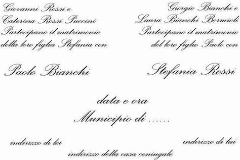 Partecipazioni Di Matrimonio Cosa Scrivere.Partecipazioni Matrimonio Cosa Scrivere Sulla Busta E Sul
