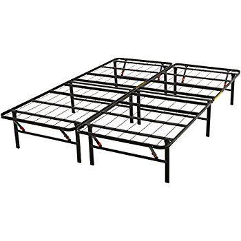 Amazonbasics Platform Bed Frame Black Full Platform Bed Frame Metal Platform Bed Platform Bed Base