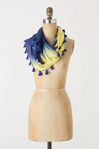 Ornamented Kite Scarf - Anthropologie.com
