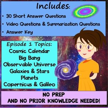 Cosmos Episode 1 Worksheet Standing Up In The Milky Way A
