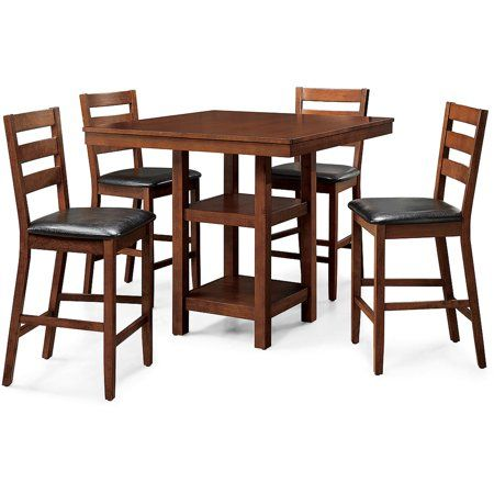 4c2ff05644a2fe418a6569a40aeabb31 - Better Homes And Gardens 5 Piece Counter Height Dining Set