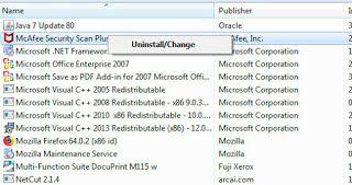 Menghapus Aplikasi Pada Komputer Aplikasi Perangkat Lunak Komputer