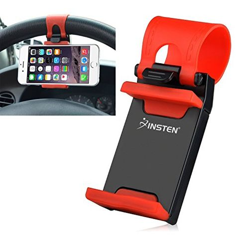 Clip Buckle Socket Hands Free on Car Steering Wheel for iPhone KingMas Multi-functional mobile phone Holder Mount PDA and Smart Cellphones