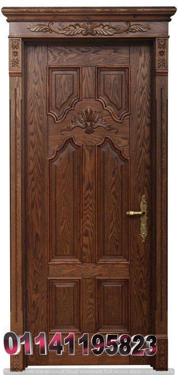 اشكال ابواب خشب Main Door Design Wooden Door Design Wood Doors Interior