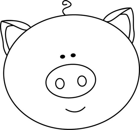 Black And White Black And White Pig Face Thema Drie Biggetjes