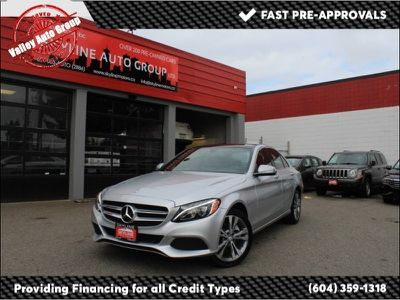 2015 Mercedes Benz C Class 4dr Sdn C 300 Luxury 4matic Silver