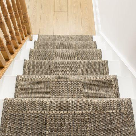 Tweed Sisal Rug With Stripes Carpet Runner Yahoo Image
