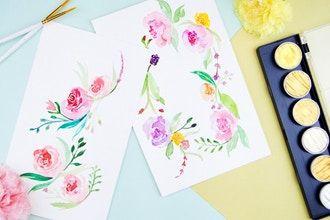 Floral Watercolor Workshop Watercolor Classes New York