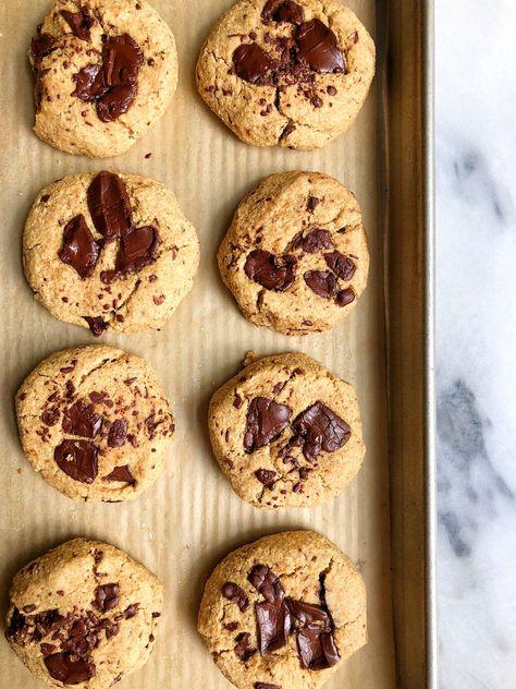 One Bowl Vegan Chocolate Chunk Cookies