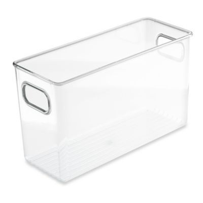 Idesign Tm Idesign Cabinet Binz 10 X 4 X 6 Storage Bin In 2020 Bathroom Sink Organization Under Bathroom Sinks Storage Bins