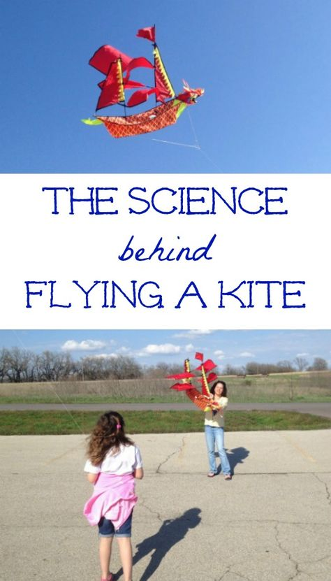 Turn flying a kite into a simple science experiment!  Learn about the science principles that apply to kite flying along with a list of great books too!