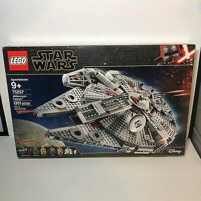 Ebay Hot Deal Lego Star Wars Millennium Falcon Set New 75257 6 Figures Lando R2d2 Chewy 3po Lego Star Wars Millennium Falcon Ebay