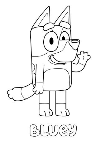 Bluey Print And Colour Abc Kids Abc For Kids Cool Coloring Pages Coloring Pages For Kids