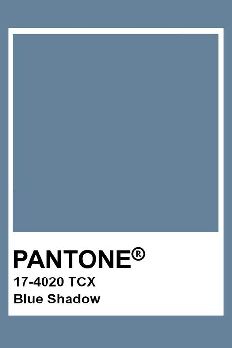 Pantone Blue Shadow