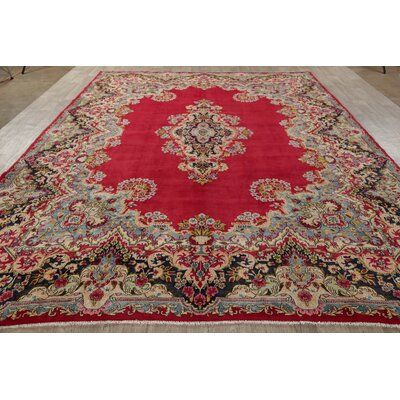 Bloomsbury Market One Of A Kind Tabriz Faded Hand Knotted 9 11 X