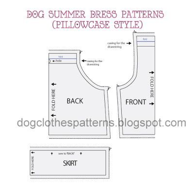photograph regarding Free Printable Pillowcase Dress Pattern named Doggy summertime gown practices (pillowcase layout) Mimi Tara