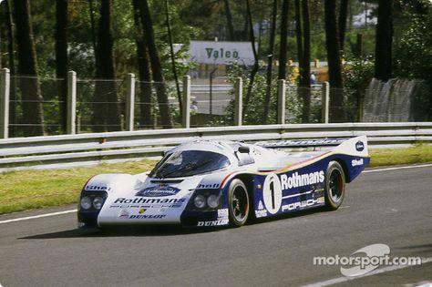 1 Rothmans Porsche Porsche 962c Jacky Ickx Jochen Mass Hans Joachim Stuck