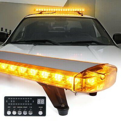 Ad Ebay Xprite 48inch 132 Led Rooftop Strobe Light Bar Amber Roof