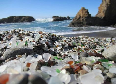 Glass Beach, Ft. Bragg, CA