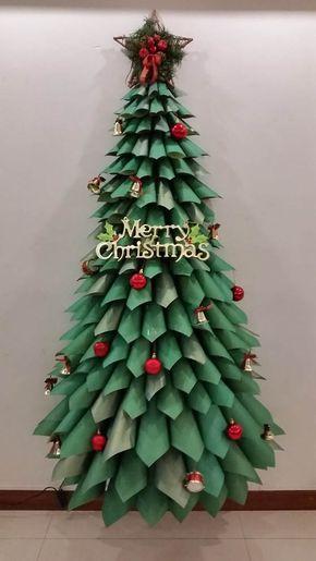 22 Creative Diy Christmas Tree Designs Vánoce Arbol