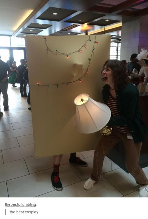 Stranger Things cosplay--->>>this show hasn't even been around that…
