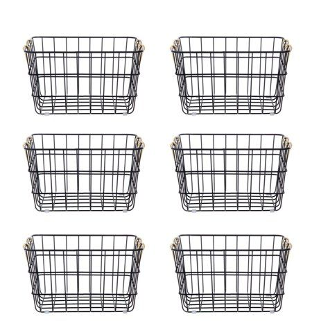 4c471e15a10057cda626af7145abf557 - Better Homes & Gardens Medium Stacking Wire Basket
