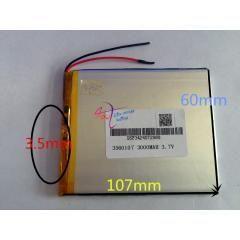 25 Off Wholesale 10 Pcs 3 7v 3000mah 3560107 Lithium Polymer Accumulator Li Enerjidepolama Energy Storage Rechargeable Batteries Powerbank