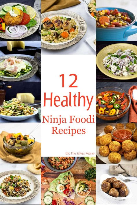 Healthy Grilling Recipes, Healthy Meal Prep, Healthy Cooking, Vegetarian Recipes, Healthy Pressure Cooker Recipes, Grill Recipes, Keto Recipes, Ninja Cooking System, Air Fryer Dinner Recipes