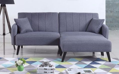 Incredible Galicia Mid Century Modern Linen Futon Decor Ideas Mid Alphanode Cool Chair Designs And Ideas Alphanodeonline