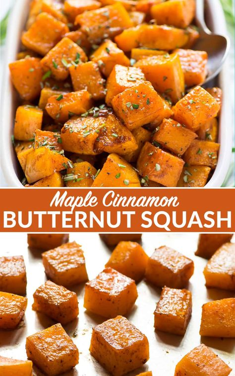 Roasted Butternut Squash | Easy and Delicious Side
