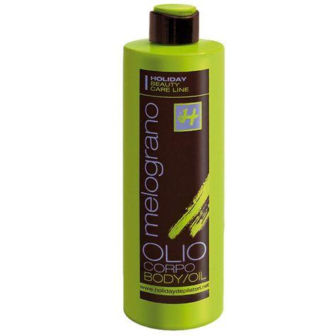 Olio Corpo A Base Vegetale Al Melograno In 2020 Shampoo Bottle Body Oil