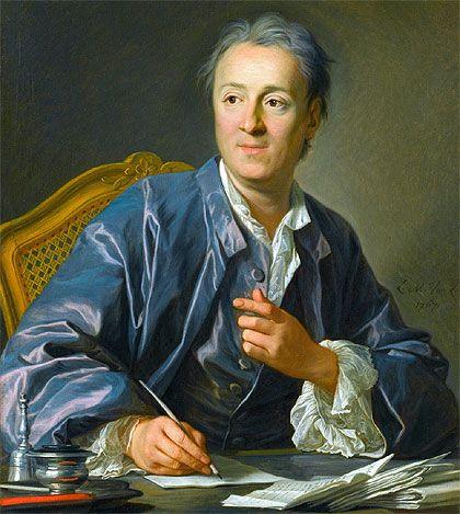 Biografia De Denis Diderot Xviiie Siecle Xviiie