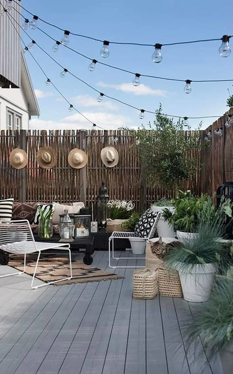 Vivir El Jardin Con Ninos Ventas En Westwing Decoracion Terraza Diseno De Terraza Y Iluminacion Terrazas