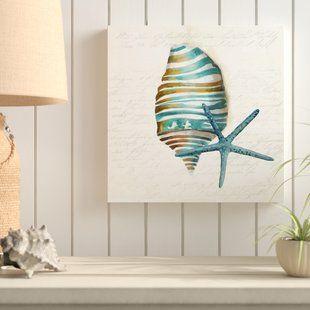 Coral Decor Wayfair Graphic Art Canvas Art Art Print Set