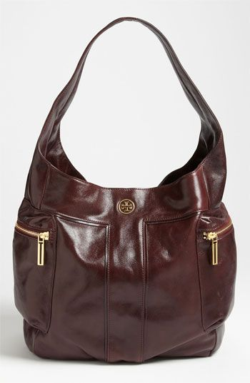 Tory Burch 'Vintage Moto - Large' Hobo available at #Nordstrom