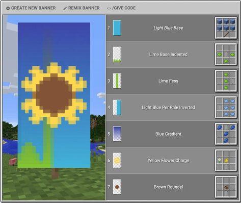 Minecraft Banner Patterns, Cool Minecraft Banners, Cute Minecraft Houses, Amazing Minecraft, Minecraft Decorations, Minecraft House Designs, Minecraft Crafts, Minecraft Banner Crafting, Minecraft Building Guide
