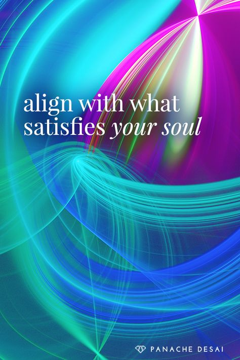 True contentment arises on the level of your soul.